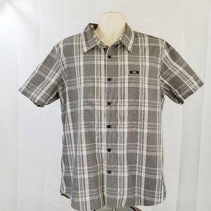 Men's Oakley SS XL button down shirt